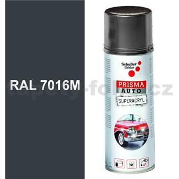 Sprej AUTO SUPERACRYL 400ml RAL 7016M barva antracitově šedá