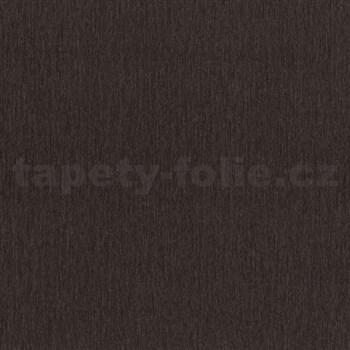 Vliesové tapety na zeď Studio Line - Ligneous strukturovaná tmavě hnědá - POSLEDNÍ KUSY