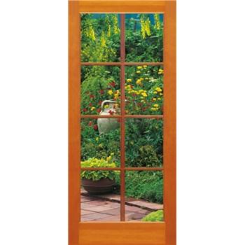 Vliesové fototapety okno na terasu rozměr 97 cm x 220 cm