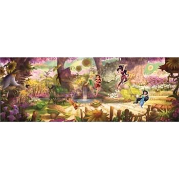 Vliesové fototapety lesní víly rozměr 368 cm x 127cm