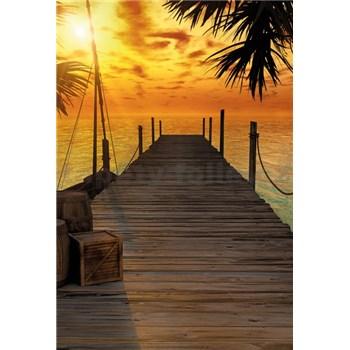 Vliesové fototapety Ostrov pokladů rozměr 124 cm x 184 cm