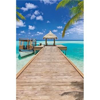 Vliesové fototapety Beach Resort rozměr 124 cm x 184 cm