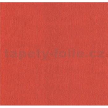 Papírové tapety na zeď Sweet & Cool jednobarevná se strukturou červená