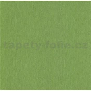 Papírové tapety na zeď Sweet & Cool jednobarevná se strukturou zelená