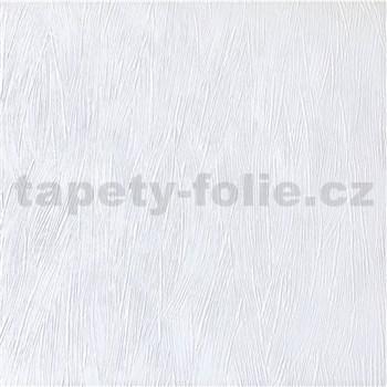 Papírové tapety na zeď Sweet & Cool jednobarevná se strukturou bílá