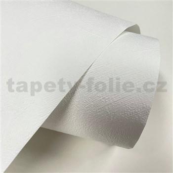 Vliesové tapety na zeď IMPOL TRADE stěrkovaná omítkovina bílá25m x 0,53cm MEGA ROLL