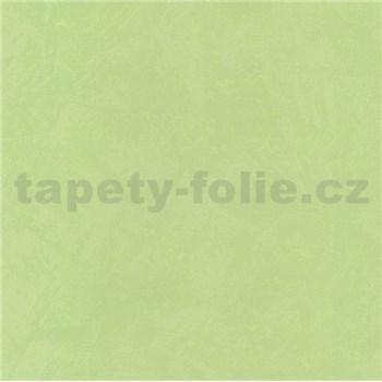 Vinylové tapety na zeď omítkovina zelená