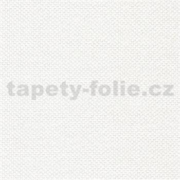 Vliesové tapety na zeď IMPOL Timeless omítkovina bílá textilní struktura - MEGA ROLL návin 15m
