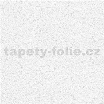 Vliesové tapety na zeď IMPOL Timeless omítkovina bílá hrubá struktura