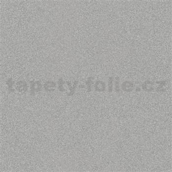 Vliesové tapety na zeď IMPOL Timeless strukturovaná šedá s třpytkami
