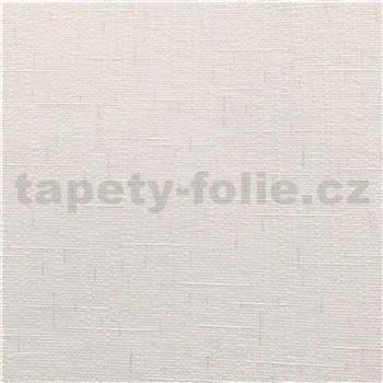 Vinylové tapety na zeď IMPOL Timeless textilní struktura bílá