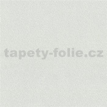 Vliesové tapety na zeď Times - strukturovaná hladká bílo-šedá