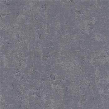 Vliesové tapety na zeď Trendwall omítkovina šedočerná