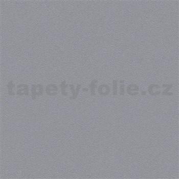 Vliesové tapety na zeď Trendwall strukturovaná tmavě šedá s třpytkami