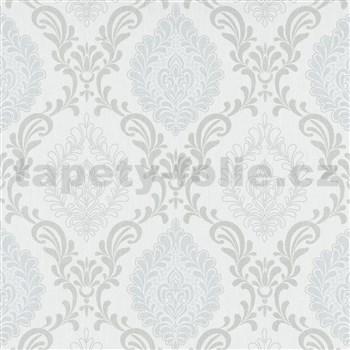 Vliesové tapety na zeď Trésor ornamenty šedé