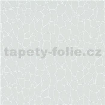 Vliesové tapety na zeď Trésor kamínky šedé