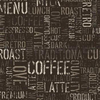 Papírové tapety na zeď Tribute - coffee tmavě hnědé