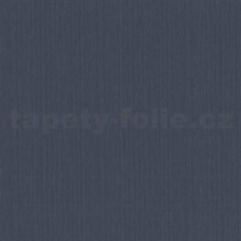 Vliesové tapety na zeď Tribute - strukturovaná tmavě modrá