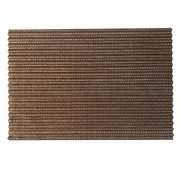 Vinylové dekorativní prostírání na stůl obdélníkové růžově zlaté 45 cm x 30 cm