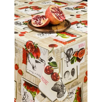 Ubrus metráž jižní ovoce
