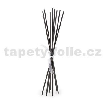 Černé náhradní tyčinky set 10ks, výška 25 cm