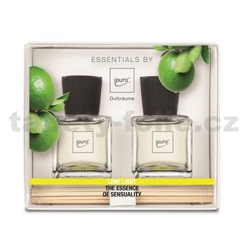 Bytová vůně IPURO Essentials lime light set 2x50ml