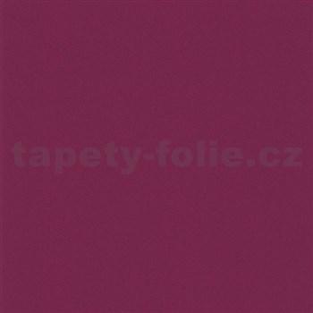 Tapety na zeď Wish jednobarevné tmavě růžové