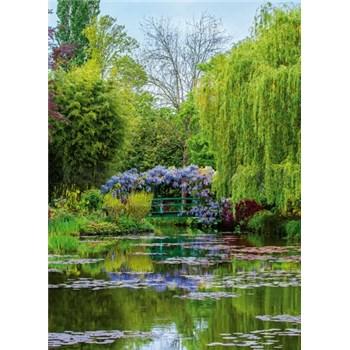Fototapety zahrada ve Francii rozměr 184 cm x 254 cm