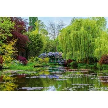 Fototapety zahrada ve Francii rozměr 368 cm x 254 cm