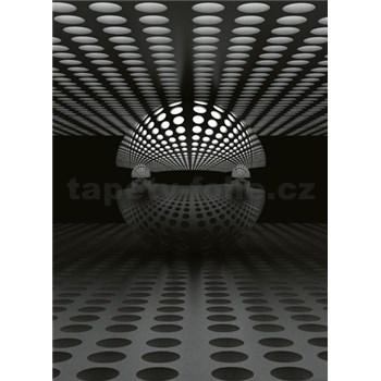 Vliesové fototapety 3D koule rozměr 184 x 254 cm