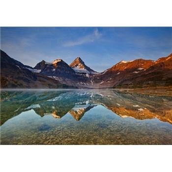 Fototapety jezero Magog Kanada rozměr 368 cm x 254 cm