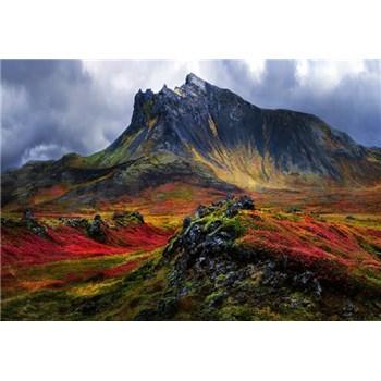 Fototapety hory na Islandě rozměr 368 cm x 254 cm