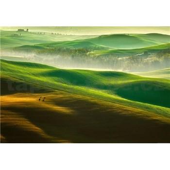Vliesové fototapety hory rozměr 368 cm cm x 254 cm