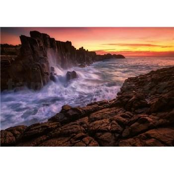 Fototapety mořské útesy rozměr 368 cm x 254 cm