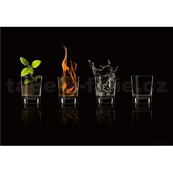 Fototapety zem, oheň, voda, vzduch rozměr 368 cm x 254 cm