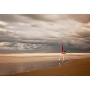 Fototapety židle na pláži rozměr 368 cm x 254 cm
