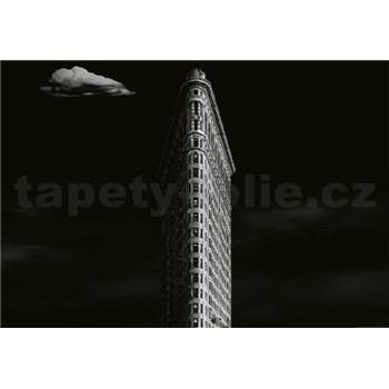 Vliesové fototapety železná budova v New Yorku rozměr 368 cm x 254 cm