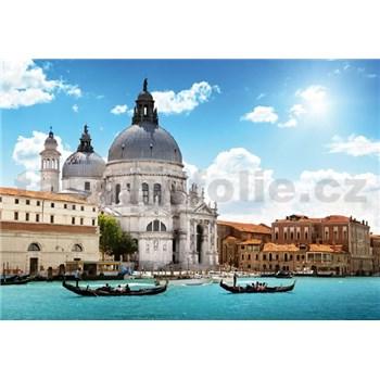 Vliesové fototapety bazilika Salute v Benátkách rozměr 368 x 254 cm