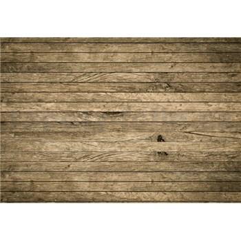 Vliesové fototapety vintage letitá dřevěná stěna rozměr 368 cm x 254 cm