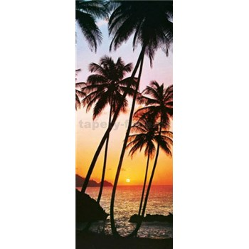 Fototapety Sunny Palms rozměr 86 cm x 200 cm