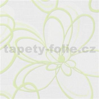 Vliesové tapety na zeď WohnSinn květy zelené