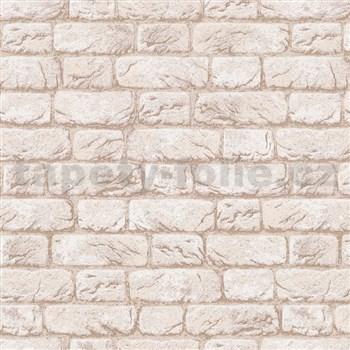 Vliesové tapety na zeď IMPOL cihla béžová
