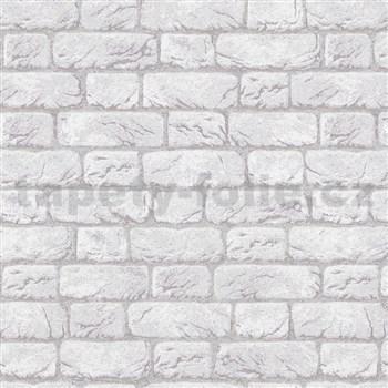 Vliesové tapety na zeď IMPOL cihla šedá