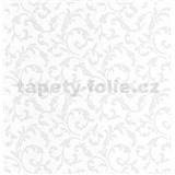 Luxusní vliesové tapety na zeď Brilliance zámecký vzor bílý