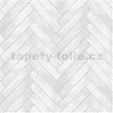 Dekorativní obklad na stěnu Ceramics Chevron obklad šedý šířka 67,5 cm x 20 m