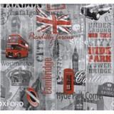 Papírové tapety na zeď Collection Londýn