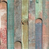 Samolepící tapeta barevné dřevo Rio - 67,5 cm x 2 m (cena za kus)