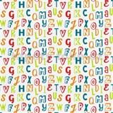 Dětské tapety na zeď Die Maus barevná písmena na bílém podkladu - POSLEDNÍ KUSY