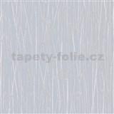 Vliesové tapety na zeď IMPOL Paradisio 2 florální vzor stříbrný na šedém podkladu