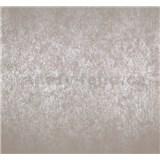 Vliesové tapety na zeď Estelle metalická hnědá - POSLEDNÍ KUSY